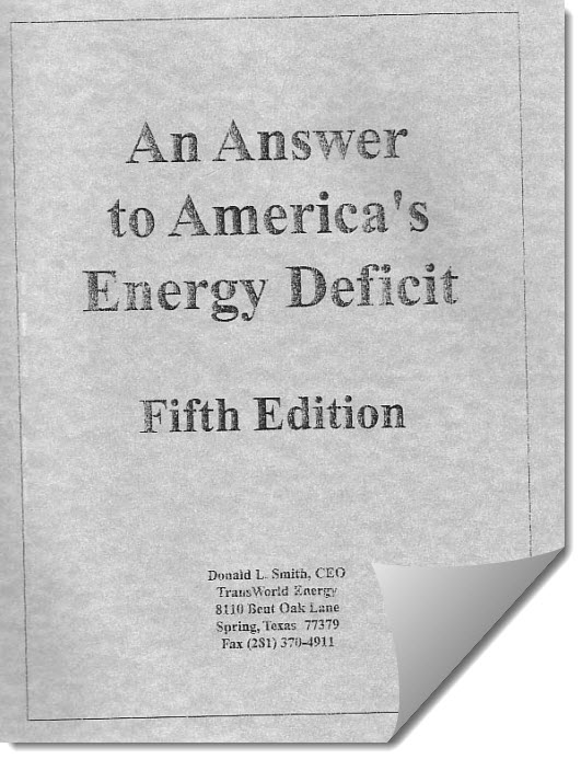 Donald L. Smith Device - An Answer to Americas Energy Deficit